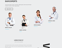 Hospital - Business template, HTML+PSD