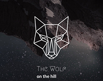 The wolf: motivational web poster