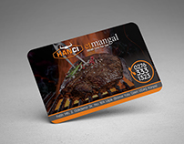 Hancı Meat Restaurant Business Card