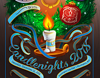 Poster Design // Candlenights 2018