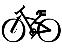 Bicicletas tipográficas