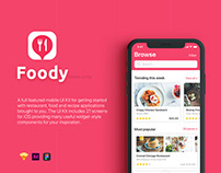 Foody UI Kit