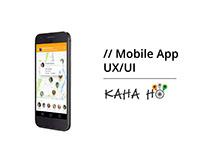 Mobile App Design for KahaHo