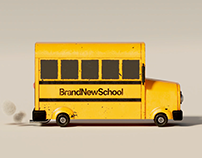 Brand New School 10K Branding