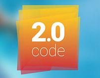 Code 2.0 - software development course branding