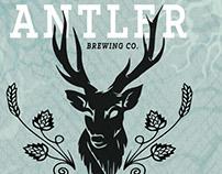Logo & Packaging Design : Antler Ale