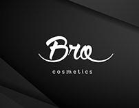 "Logo and branding identity ""Bro cosmetics"""