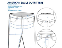 American Eagle Outfitters Technical Flats