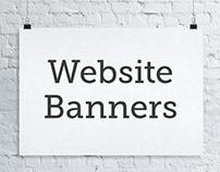 Website Banner Images
