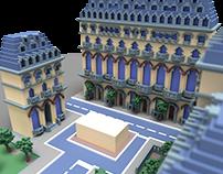 3D // Haussmann Building