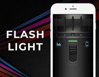 Flash Light IOS APP (Gui & Screenshots)