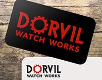 Dorvil Watch Works: Branding/Logo Design