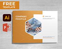 Company Profile Brochure FREE Template Download
