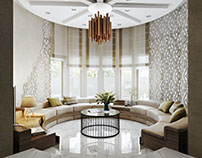 Realistic 3D Rendering for Impactful Living Room Design