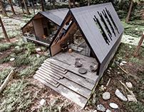 Puzzle Cabin in Ayskaya, Ufa, Russia