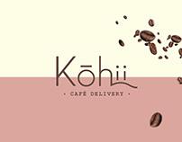 Brand Identity Kohii Café