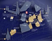 Moscow Kremlin Museums wayfinding system
