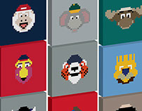 Pixburgh - MLB MASCOTS