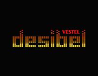 Vestel Desibel Logo Design