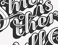 Script font design