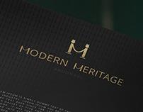 Modern Heritage Abu Dhabi Logo design