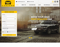 Carzone: Rent a car