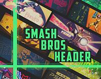 Twitter Header Smash Bros.