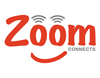 Zoom Connects Website Redesign
