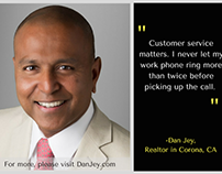 Dan Jey Quotes - The Value of Customer Service