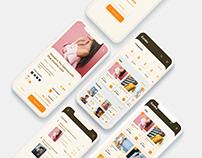 Eureka app ui concept.