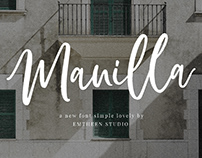 FREE | Manilla Script Font