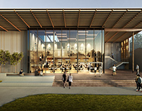 Dining Commons at The Chadwick School Palos Verde, CA