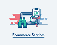 Ecommerce Services Iconset