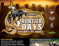 2018 Frontier Days Poster