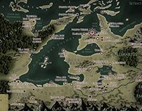 Leskaria Map (Holy Karienite Empire)