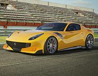 Ferrari F12 TDF - CGI