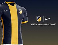 Atleti de San Luis Jersey 2017/18 Nike (Concept)