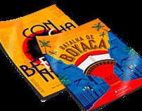 Flyer Bicentenário 200 anos da história Colombiana
