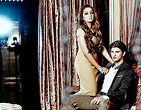 Ajit Sodhi & Nidhi Dutta for Filmfare Oct'15