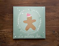 La galletita Jen (Diseño editorial)