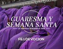Fe & Devoción: Semana Santa 2015
