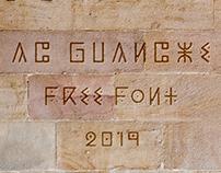 AC Guanche (Free Font)