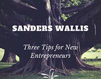 Sanders Wallis: Staying in Shape