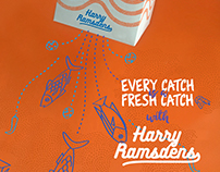 Harry Ramsden Re-Brand