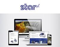Refonte d'un site vitrine pour Star Machine Tool