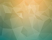 48 Polygon Backgrounds - 04 styles - $3
