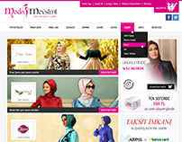 Modamevsimi E-commerce website design