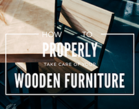 How to Properly Take Care of Your Wooden Furniture