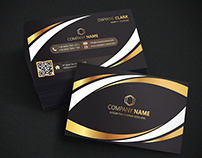 Professional Business Card ( 2 in 1 )