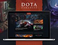Dota Paradise | Gaming Blog & Store Theme